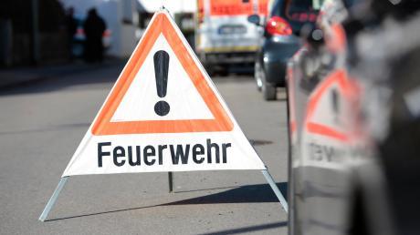 Wegen einer Dieselspur war ein Pedelecfahrer in Langenhaslach gestürzt.