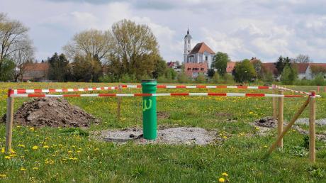 """Die Entwicklung von Bauland und Gewerbeflächen ist eines der Ziele der Gemeinde Egling. Das Neubaugebiet """"Austraße Nord"""" wird bereits erschlossen."""