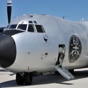 "Rollout Transall C-160 Sonderlackierung ""Silberne Gams 51-1"""