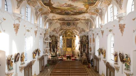 Die Sanierungsarbeiten an der St. Ulrich in Eresing sind weitgehend abgeschlossen. Die Eröffnung mit Gottesdienst findet am 2. Dezember statt.