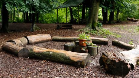 Rund um den Waldkindergarten in Eresing kommt esimmer wiederzu Vandalismus.
