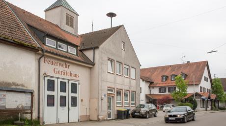 Das Feuerwehrhaus in Weil hat ausgedient. Am Ortsrand ist ein Neubau geplant.