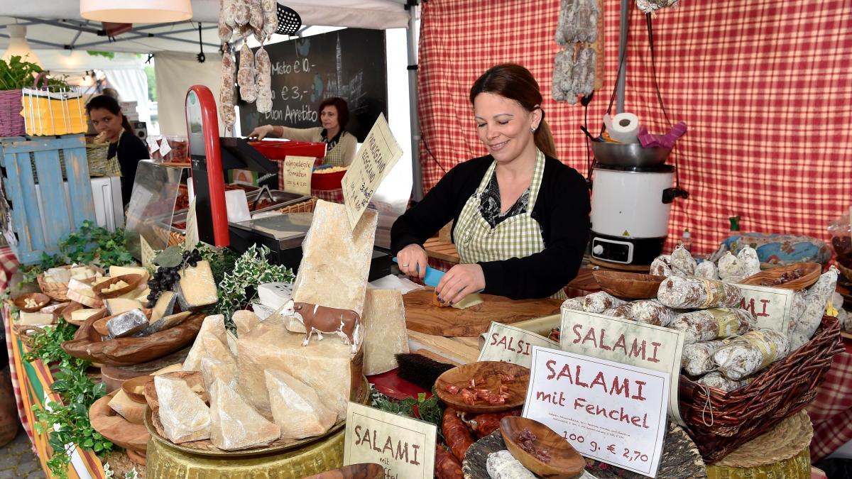Markt nürnberg venezianischer Wochenmärkte
