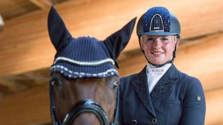 Alexandra Maier hat sich ganz dem Pferdesport verschrieben – mit Erfolg.