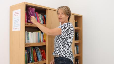 Ulli Högenauer hatte die Idee zum öffentlichen Bücherschrank in Hofstetten.