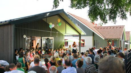 Das Kinderhaus St. Nikolaus in Unterdießen wurde jetzt eingeweiht.