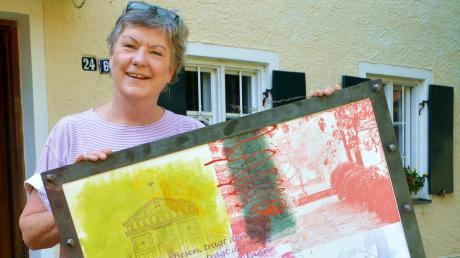 Das ehemalige Wagner-Haus in Egling ist saniert worden. Therese Grosswiele hat es vor dem Verfall gerettet und darin einen Laden für Bücher und schöne Dinge eröffnet.