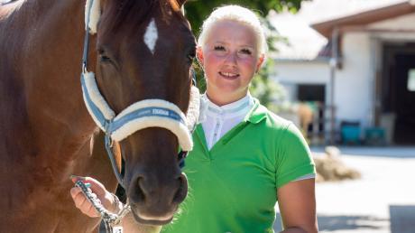 Bei Alexandra Maier dreht sich alles um Pferde: Die erfolgreiche Dressurreiterin will im Oktober ihren Gesamtsieg beim Landesfinale im FAB-Cup wiederholen.