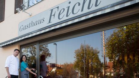 Carmen und Alexander Zenn haben ihre letzten Kunden bedient und schließen die Metzgerei Feicht im Ortzentrum von Prittriching nach über acht Jahrzehnten Geschäftsbetrieb.