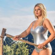 Theresa Hilz aus Obermeitingen ist Miss April 2019 im Jungbauernkalender.
