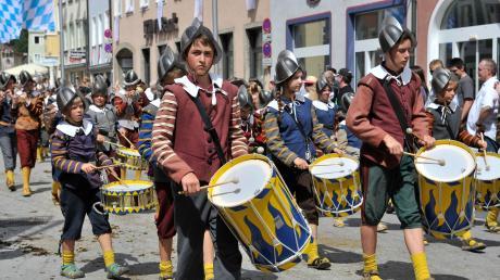 Nach vier Jahren Pause findet wieder das Ruethenfest in Landsberg statt.