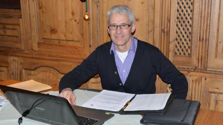 Hofstettens Bürgermeister Benedikt Berchtold wird 2020 nicht mehr antreten.