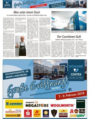 Neueröffnung Lechland-Center