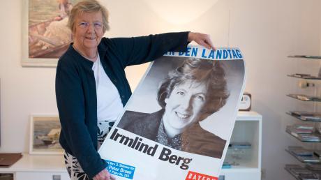Irmlind Berg aus Seestall wurde für ihre Tätigkeit in der SPD mit der Willy-Brandt-Medaille ausgezeichnet.