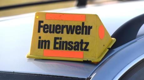 Zu zwei Wiesenbränden mussten Feuerwehren im Landkreis Landsberg an diesem Wochenende ausrücken.