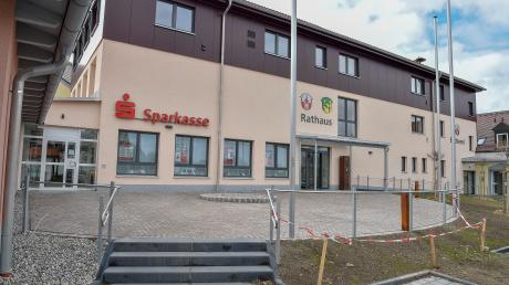 Das Rathaus in Prittriching ist nun fertig saniert.