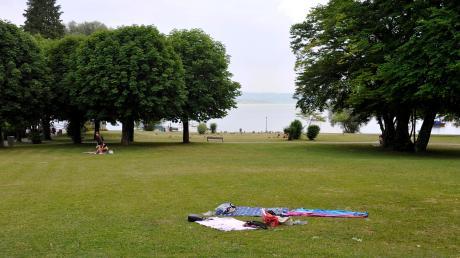 Der Uttinger Summerpark ist eine beliebte Erholungsfläche.