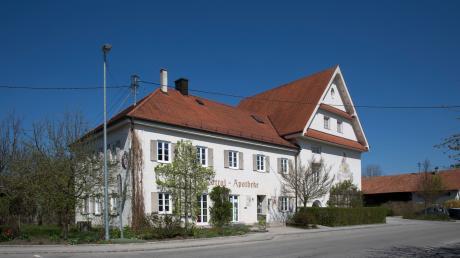 Bald wird hier die Umbauarbeiten an der Alten Schule in Rott beginnen.