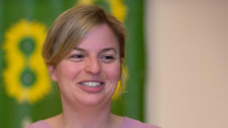 Katharina Schulze, Fraktionsvorsitzende der Grünen im Landtag, war bei der Gründung des Ortsverbands in Windach.