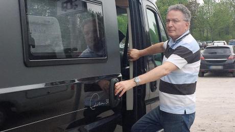 Harald Paprocki hatte die Idee, mit einer Autoschau die Käuferströme nach Landsberg zu lenken. Beruflich ist er längst in München beschäftigt, privat aber hält er dem Landkreis die Treue.