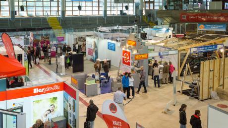Die Bau- und Energiemesse 2019 lockte viele Besucher in die Landsberger Eissporthalle und das Sportzentrum.