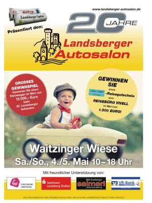 20 Jahre Landsberger Autosalon
