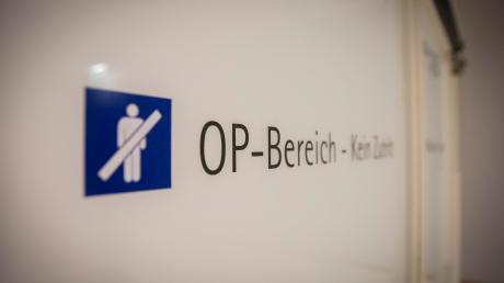 Auch am Klinikum in Landsberg streikten Ärzte.