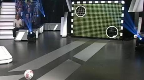 Ein Fußballer vom SV Fuchstal darf am Samstag im ZDF-Sportstudio an der Torwand ran.