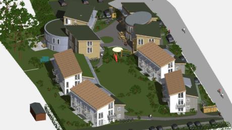 So hätte das gemeinschaftliche Wohnen auf dem Menter-Gelände aussehen können. Jetzt hoffen die Initiatoren auf eine andere Möglichkeit in Utting.