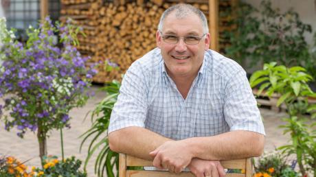 Dieter Förg kandidiert für die Dorfgemeinschaft Penzing als Bürgermeister.