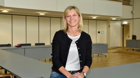 Sitzungssaal Landratsamt: Regina Kölbl ist jüngstes Mitglied im Kreistag.