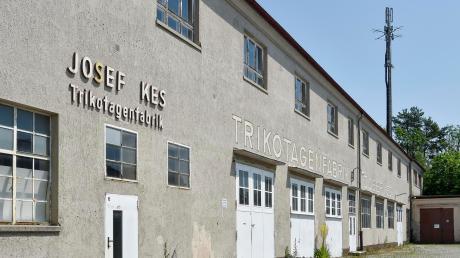 Die ehemalige Trikotagenfabrik soll in Wohnungen und Räumlichkeiten für die Lebenshilfe umgebaut werden.