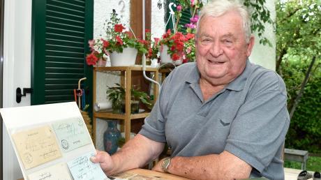 Otto Scheu aus Egling bewahrt Historisches davor, dass es verloren geht.
