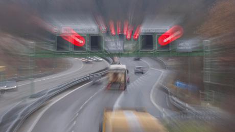 Auf der A96 war im Bereich Eching am Montagnachmittag ein Geisterfahrer unterwegs.