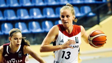 Leonie Fiebich aus Landsberg startet mit der deutschen U20-Basketball-Nationalmannschaft bei der Weltmeisterschaft in Thailand.