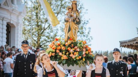 Die Stumme Prozession ist einer der Höhepunkte im Kirchenjahr für die Vilgertshofer.