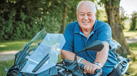 Seine freie Zeit will Peter Ditsch unter anderem mit seinem Hobby Motorradfahren verbringen.