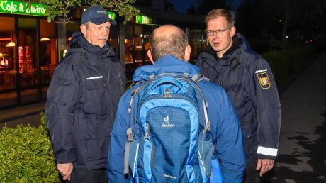 In Landsberg sind derzeit sechs Ehrenamtliche für die Sicherheitswacht unterwegs.