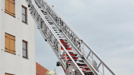 Das Drehleiterfahrzeug kommt nicht schnell genug zu Einsätzen der Feuerwehr in Deuringen.