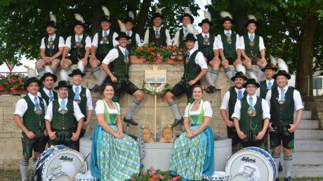 Der Trommlerzug Apfeldorf erhält den Sonderpreis beim Kulturförderpreis des Landkreises Landsberg.