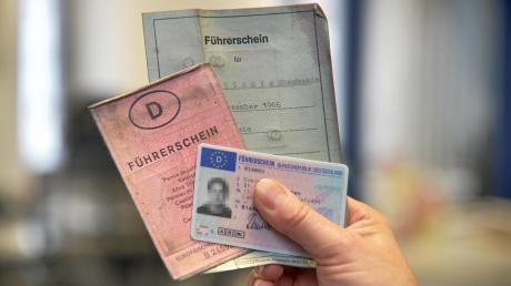 Ohne Führerschein war jetzt eine junge Frau in Mering unterwegs.