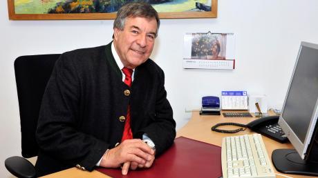 Apfeldorfs Bürgermeister Georg Epple wird 2020 nicht mehr antreten.