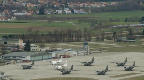 Die Transall prägten viele Jahre das Bild auf dem Fliegerhorst in Penzing. Unser Foto entstand im März 2016.