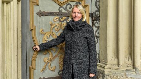 Sabine Müller wünscht sich, dass die Landsberger Stadtpfarrkirche während des Christkindlmarkts länger geöffnet hat.