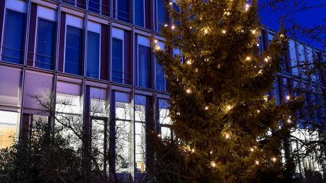 Die Stadt Landsberg (im Bild die Stadtverwaltung an der Katharinenstraße) hat im Haushalt 2020 rund 5,2 Millionen Euro eingeplant, um gegebenenfalls die bisher aufgelaufenen Derivat-Verluste auszugleichen.