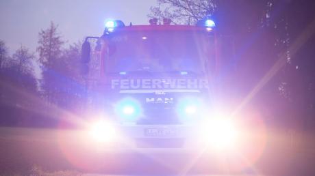 Die Feuerwehr hat den Brand in Birkhausen schnell gelöscht.