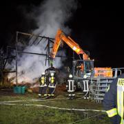 Seit Wochen treibt ein unbekannter Brandstifter sein Unwesen im Landkreis Landsberg. Mehrere Feldstadel wurden in Brand gesetzt.