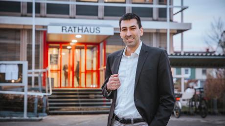 Dominic Jödicke ist neuer Geschäftsstellenleiter der Marktgemeinde Kaufering.