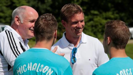 Vor vier Jahren kam Julian Nagelsmann als Stargast zu einem Hobbyturnier des FC Issing, damals war er noch Trainer in Hoffenheim.