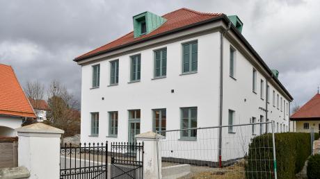 DIe Alte Schule in Hofstetten wird derzeit renoviert.